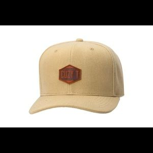 The VIII Sketch snapback tan in colour
